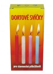 Dortové svíčky 20ks