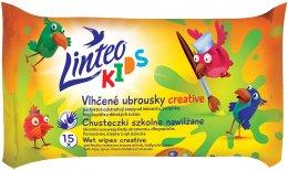 Linteo Kids Dětské vlhčené ubrousky školní 15ks