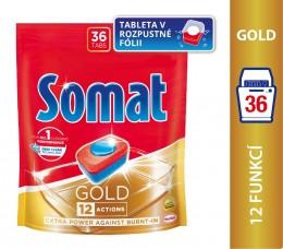 Somat Gold Tablety do myčky nádobí 36ks