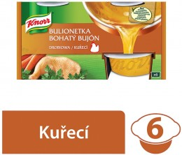 Knorr Bohatý Bujón kuřecí 3l (6x28g)