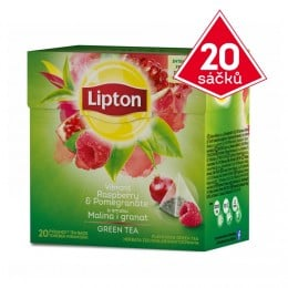 Lipton Green Tea Raspberry & Pomegranate 20 sáčků