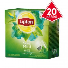 Lipton Green tea mint 20 sáčků