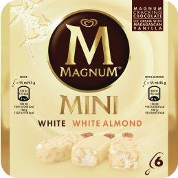 Magnum Mini White Mix 6x55ml