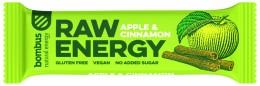 Bombus natural energy apple & cinnamon RAW tyčinka