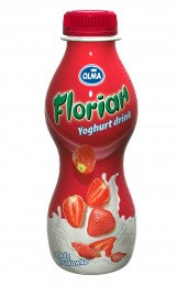 Olma Florian jogurtový nápoj jahodový