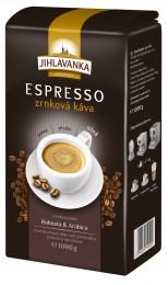 Jihlavanka Espresso zrnková káva