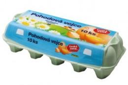 Pohodová vejce velikost M 10ks - podestýlková