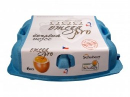 Schubert Omega Pro vejce M 6ks - klecová