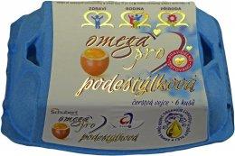 Schubert Omega Pro vejce M 6ks - podestýlková