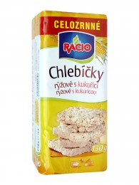 RACIO chlebíčky rýžové s kukuřicí