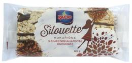 RACIO SILOUETTE kukuřičné chlebíčky s mléčnokakaovým dekorem