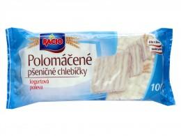 RACIO Polomáčené chlebíčky pšeničné jogurtová poleva