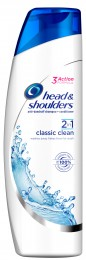 Head & Shoulders Classic Clean 2v1 Šampon Proti Lupům