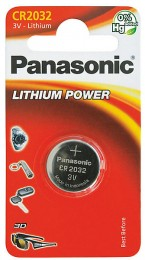 Panasonic Lithium Power baterie CR2032 1ks