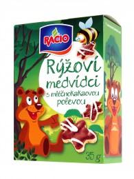 RACIO rýžoví medvídci mléčnokakaoví