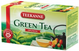 Teekanne Zelený čaj Opuncie