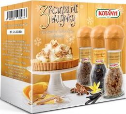 Kotányi Krabička Kouzelné mlýnky 3x