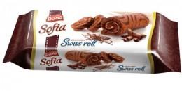 Doma Piškotová roláda s kakaovým krémem
