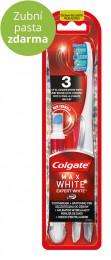 Colgate Max White Expert White zubní kartáček + bělící pero 1ks