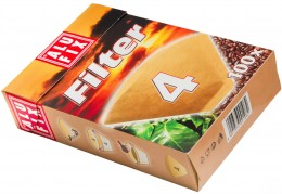 Alufix Filtry na kávu vel. 4, v krabičce