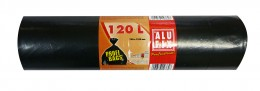 Alufix Pytle na odpad černé silné 120l, 10ks