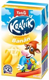 Tatra Kravík mléko banán