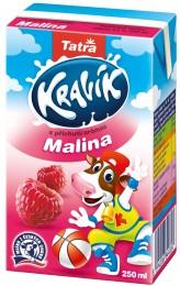 Tatra Kravík mléko malina
