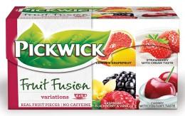 Pickwick čaj variace ovoce s višní
