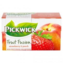 Pickwick čaj Broskev s jahodami