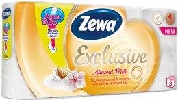 Zewa Almond Milk toaletní papír, 16,8 metru, 4 vrstvý, 8ks