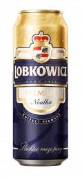 Lobkowicz Premium Nealko pivo plech