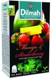 Dilmah Čaj černý Mango Jahoda