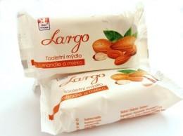 Largo mandle a mléko tuhé mýdlo 100g
