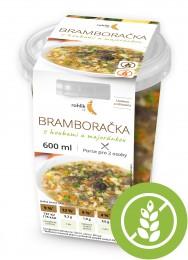 Rohlik.cz Bramborová polévka s houbami a majoránkou 2 porce