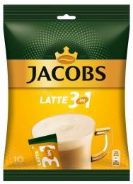 Jacobs Cafe Latte instantní káva, 10x12,5,