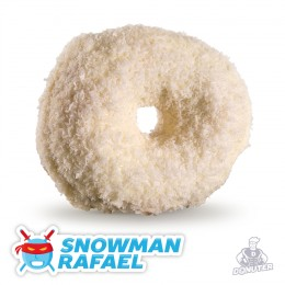 Donuter Snowman Rafael