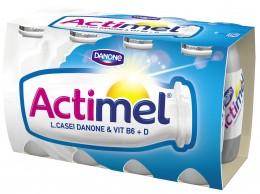 Danone Actimel bílý slazený 8x100g