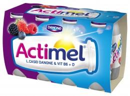 Danone Actimel jogurtové mléko lesní ovoce 8x100g