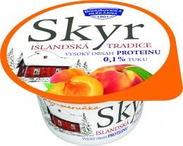 Bohušovická mlékárna Skyr 0,1% meruňka