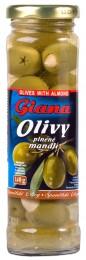 Giana Olivy zelené plněné mandlí