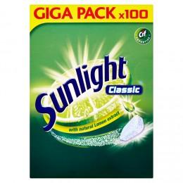 Sunlight Classic Tablety do myčky nádobí 100ks
