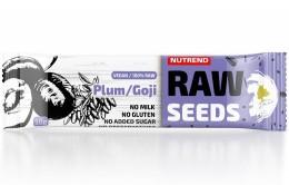 Nutrend RAW SEEDS BAR, švestka+goji
