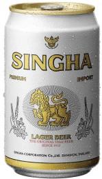 Singha Thajské pivo plech