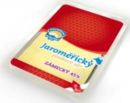 Jaroměřická mlékárna Zámecký sýr plátky