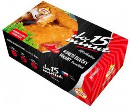 Pikant smažené kuřecí řízečky (dodavatel Vodňanské kuře)