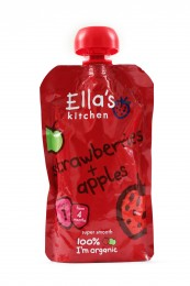 Ella's Kitchen BIO Jahoda a jablko