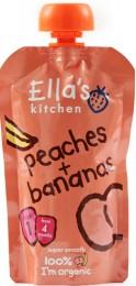 Ella's Kitchen BIO Broskev a banán