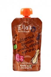 Ella's Kitchen BIO Dýně, mrkev, jablko a švestka