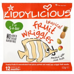 Kiddylicious Želé - Tropic