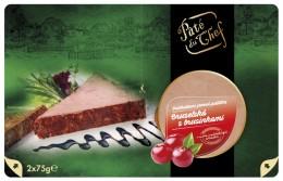 Pâté du Chef Bruselská paštika s brusinkami
